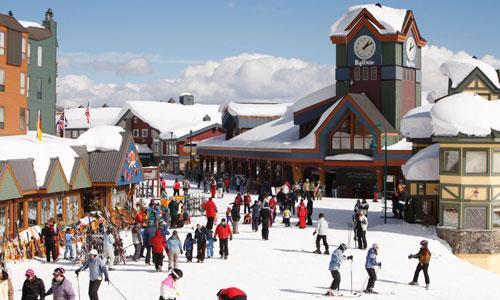 Kelowna's Big White ski resort in British Columbia's Okanagan Valley
