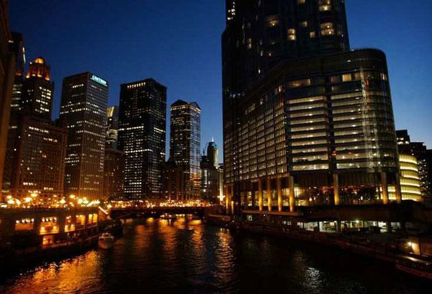 Tall storey: the Trump hotel offers river, lake and city views