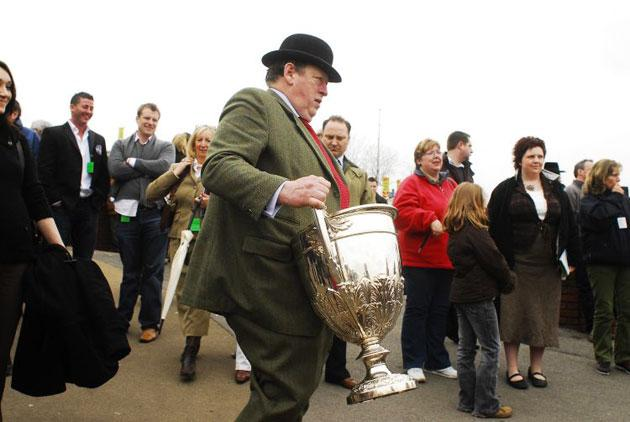 Traditional attire at Cheltenham can work in mysterious ways during the racegoer's quest for that elusive pot of gold