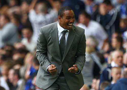 Blackburn manager Paul Ince confronted the Tottenham coach, Joe Jordan, in the tunnel at White Hart Lane