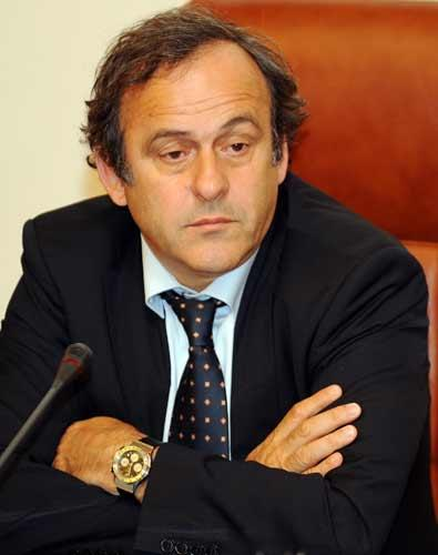 Uefa president Michel Platini will address the sports ministers on Friday and will not support a Euro regulator