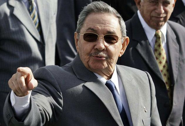 President Raul Castro was interviewed by the actor Sean Penn