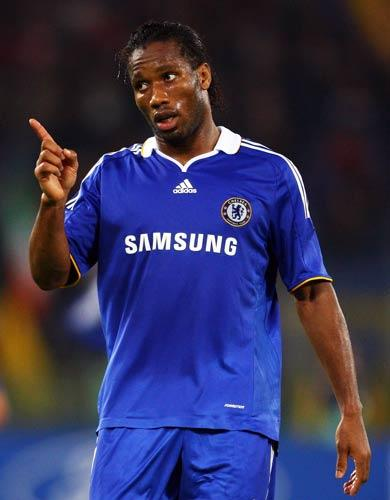 Drogba's future came under fresh speculation last week when the player was alleged to have attended a meeting with Inter Milan sporting director Marco Branca at a Fulham restaurant