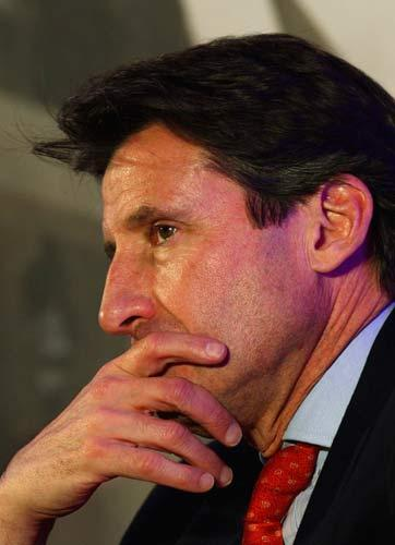 Sebastian Coe, Chairman of the London 2012 Organising Committee, has seen private investment dry up