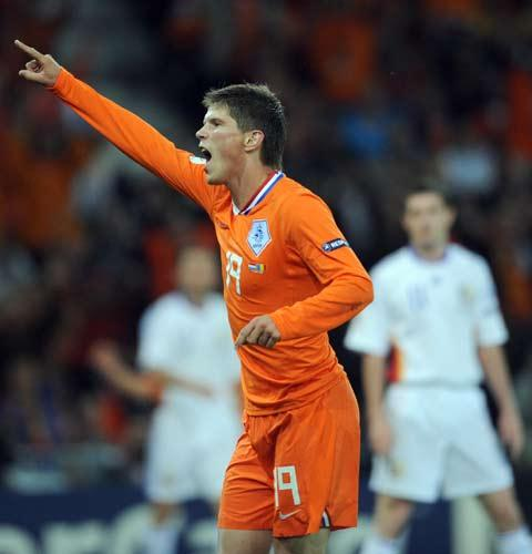 Huntelaar was linked with a host of English teams during the summer