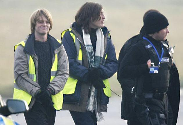 Protesters from the Plane Stupid group forced Ryanair to cancel 56 flights, causing misery for thousands of passengers