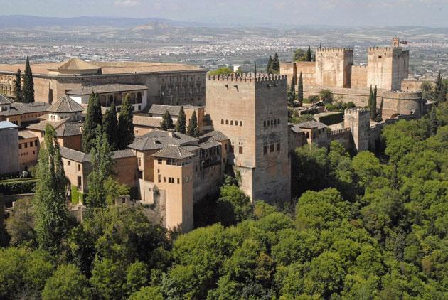 The Alhambra in Granada, Spain. The ticket office supervisor told governors he suspected something was amiss