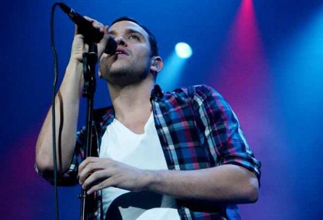 Witty and warm: Will Young played to an adoring crowd at the Roundhouse in London