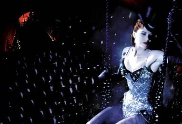Nicole Kidman in 'Moulin Rouge' 2001