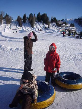 The Joly family enjoy tubing in Quebec City, Canada: 'I have never seen tubing in Europe and, for the life of me, I can't understand why'