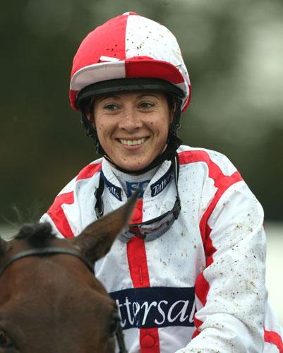 25-year-old Hayley Turner became the first woman in Britain to ride a century of winners in a year