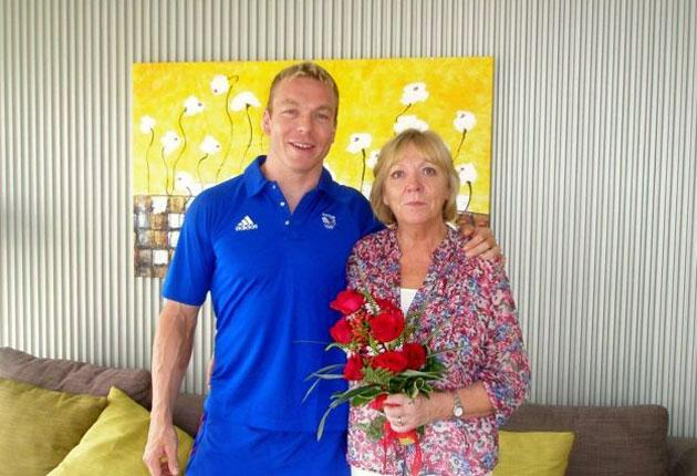 Sir Chris Hoy, who holds 27 world, Olympic and Commonwealth medals and this month became BBC sports personality of the year, heads a list which also includes his mother Carol, who receives an MBE for her work on sleep-related illnesses - the first time a