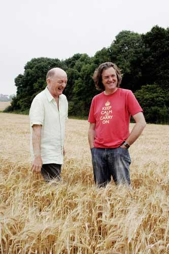 James May (right) presents 'Oz and James Drink to Britain' with Oz Clark (left) on BBC2