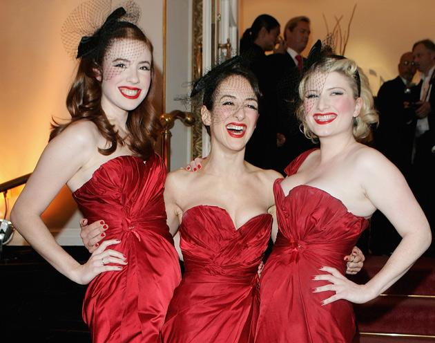 The Puppini Sisters, three unrelated 1940s swing-style close-harmonisers, have spent some time in the company of Russian oligarchs recently.