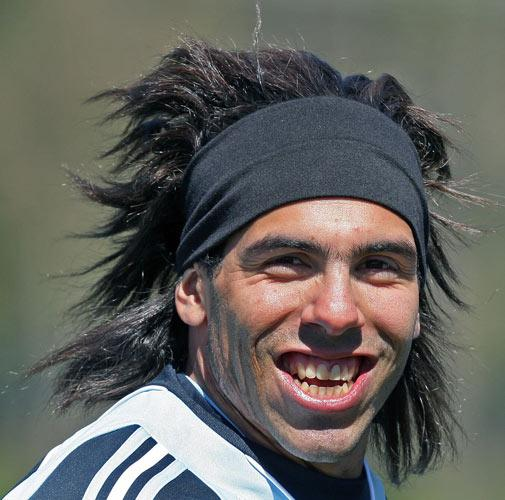 Tevez helped West Ham to secure their safety in the Premier League during the 2006/07 season
