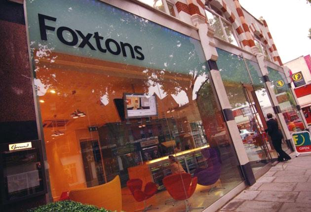 Foxtons is one of London's biggest estate agents, known for its fleet of branded green and yellow Minis and its flashy cafe-style offices