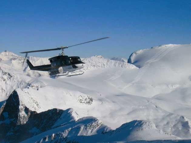 View to a thrill: If you try heli-boarding anywhere, it should really be in Panorama