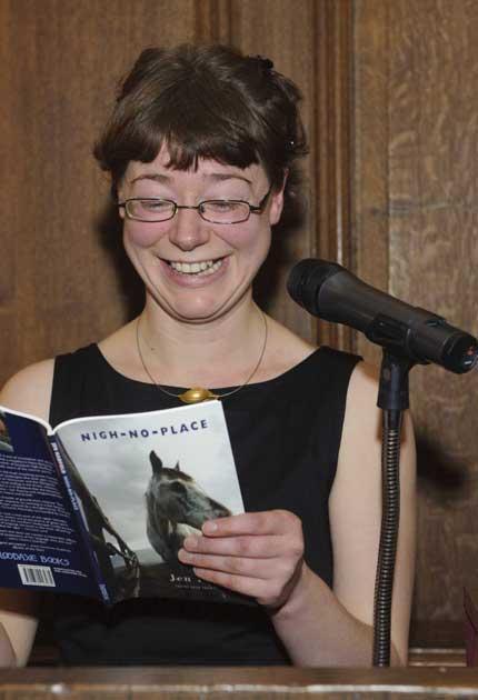 Night of verse: Jen Hadfield, winner of the T S Eliot Prize
