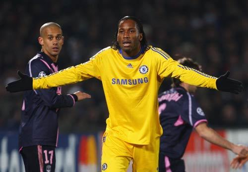 Drogba was left out of the squad for the trip to Southend having started Chelsea's three previous games