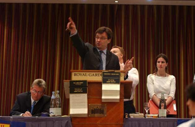 Gavel action: selling at auction is an option of last resort
