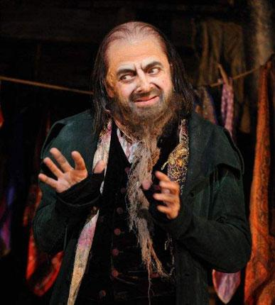 Picking pockets: Atkinson's Fagin is entertaining, but not as malevolent or gleeful as you might like