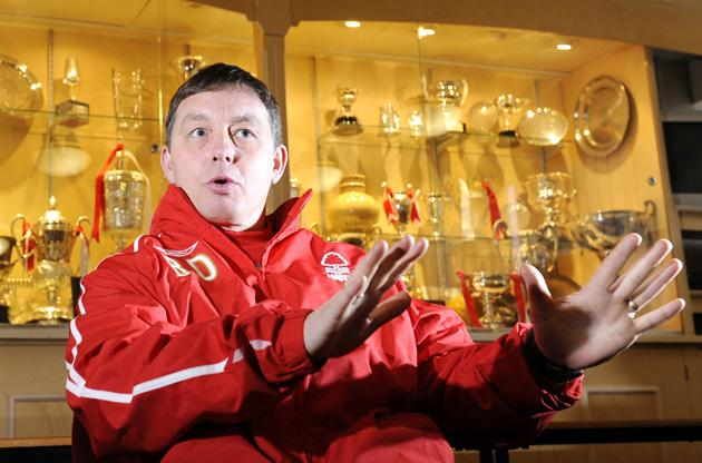 Nottingham Forest manager Billy Davies was a great subject to photograph