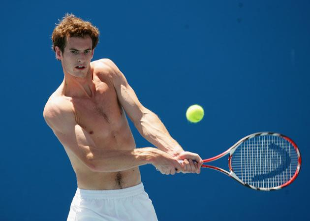 Any Murray prepares in Melbourne