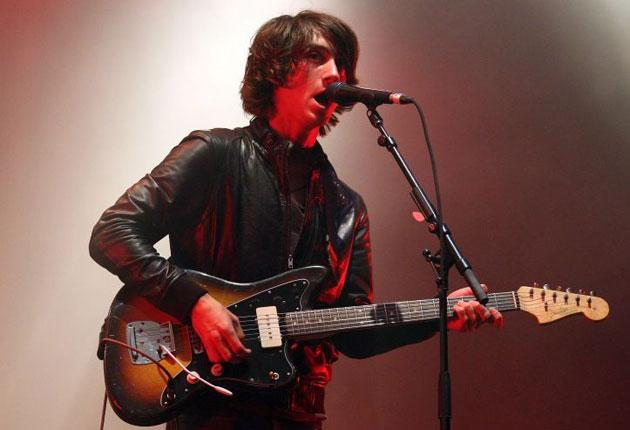 Manic exuberance: Alex Turner showcased the band's new material
