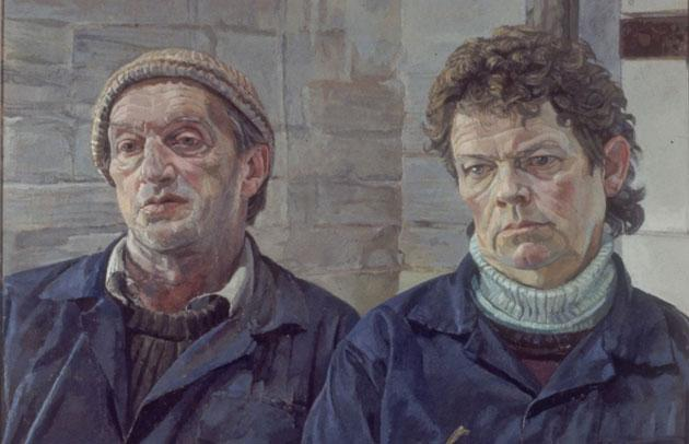 Robin and Lesley Monckton, Farmers', by Daphne Todd