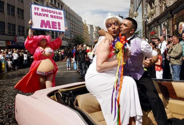 Sectarianism has not come up in the gay community very much