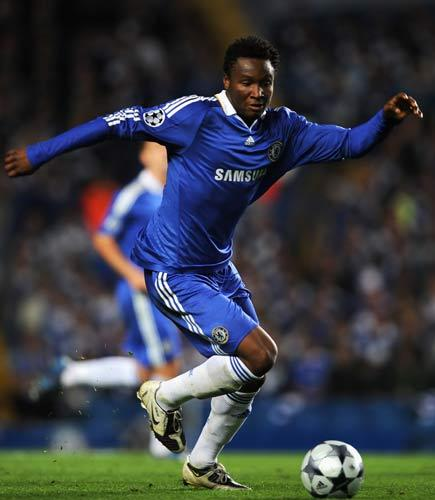 Mikel was stopped in his Range Rover near the club's ground in London's Fulham Road