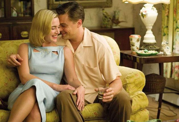 Rebels without a cause: Kate Winslet and Leonardo DiCaprio play a suburban couple whose dreams are dulled by conformity