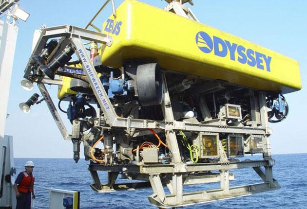 Odyssey's hi-tech submersible