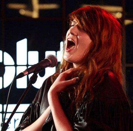 Not the new Janis Joplin: singer Florence Welch