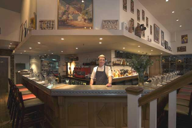 Chef and co-owner Ed Wilson says: 'Ultimately, it's about good food and natural wine in a casual winebar atmosphere'