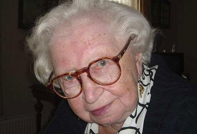 Miep Gies in a 2006 photo released by the Anne Frank House in Amsterdam, Netherlands
