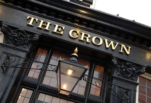 Bar blues: the upper rooms at The Crown hosted a music club called Henry's Blues House