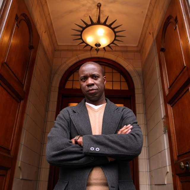 Career path: Clive Myrie landed a traineeship at the BBC and has risen through the ranks at the corporation