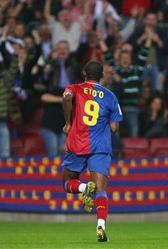 Eto'o has scored 23 times in La Liga this season