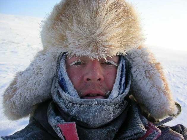 """Clegg says: """"I went on a trip to the Arctic a few years ago, and I really felt that sense of space there. I'd like my kids to experience that feeling"""