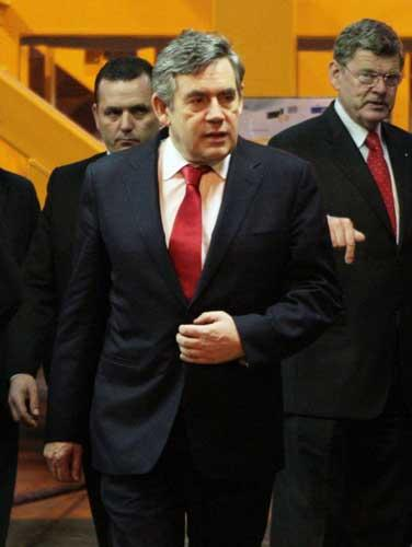 Gordon Brown, in Fife yesterday, will demand unity in a meeting next week