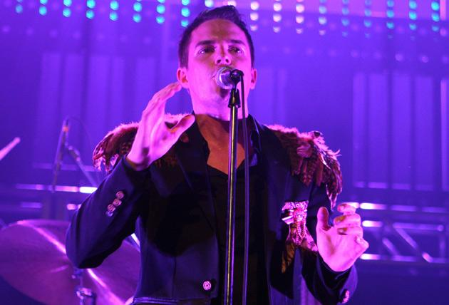 No one but Brandon Flowers could fling a dead pheasant on each shoulder and still be crowned Most Stylish Man at the 2008 GQ awards.