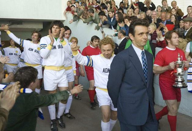 Football crazy: Michael Sheen as Brian Clough in The Damned United