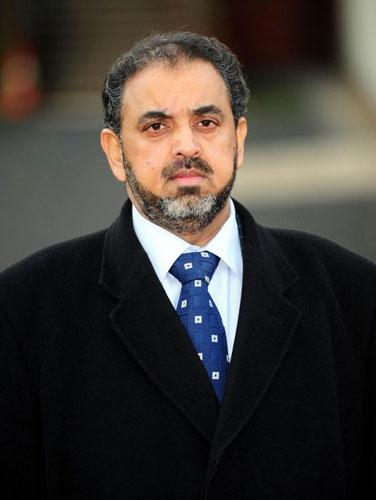 Lord Ahmed, who is to be expelled from the Labour Party,  arrives for sentencing at Sheffield Crown Court