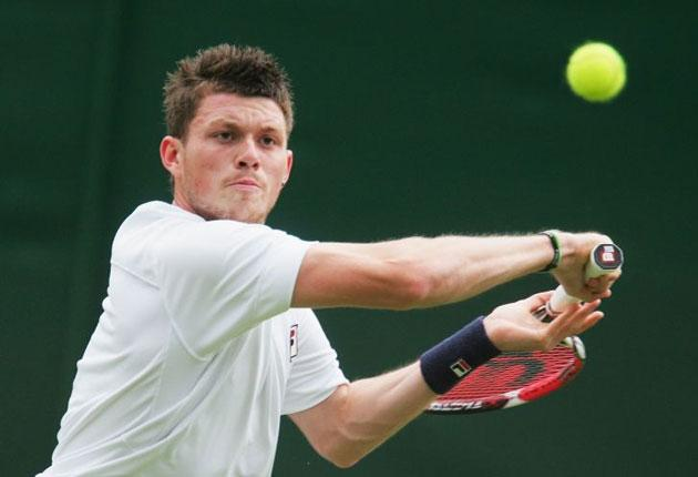 Josh Goodall, the world 192, is finding himself in the unfamiliar situation of being Britain's top-ranked player due to Andy Murray's virus
