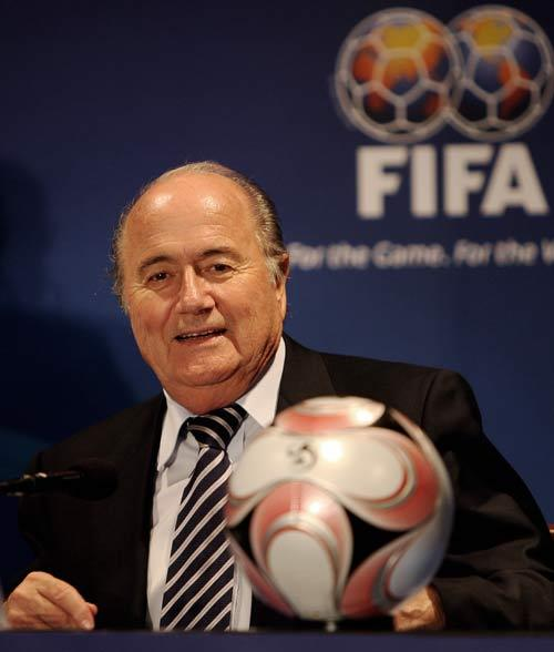 Blatter says he plans to influence Richard Scudamore, the Premier League cheif,  to impose a minimum requirement of English players