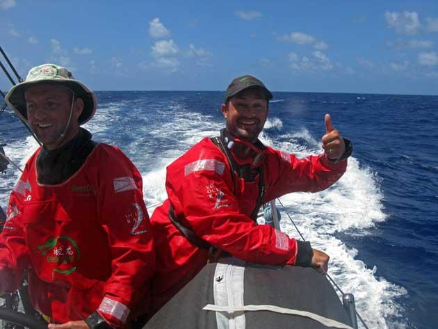 Life aboard Green Dragon, one of the competitors in the Volvo ocean race