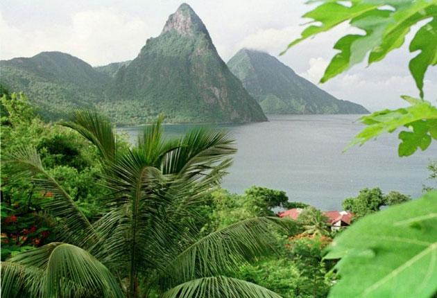 Paradise regained? St Lucia is hot property thanks partly to high profile holiday guests