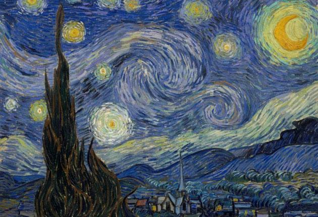 Light fantastic: Van Gogh's 'The Starry Night' from 1889