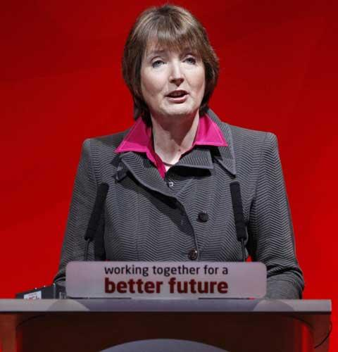 Harriet Harman is the frontrunner to succeed Gordon Brown, according to bookmakers